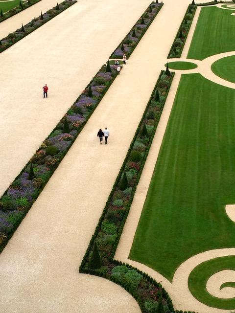 """Les jardins du château de Chambord ont été """"relookés"""" en 2017."""