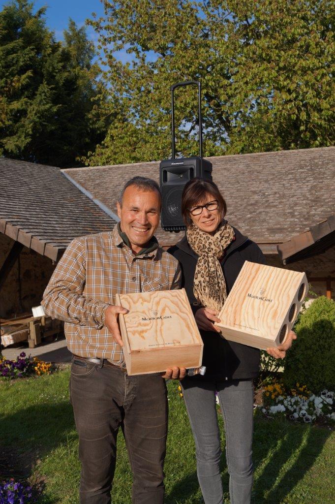 Les époux Feltrin remportent l'édition 2017.