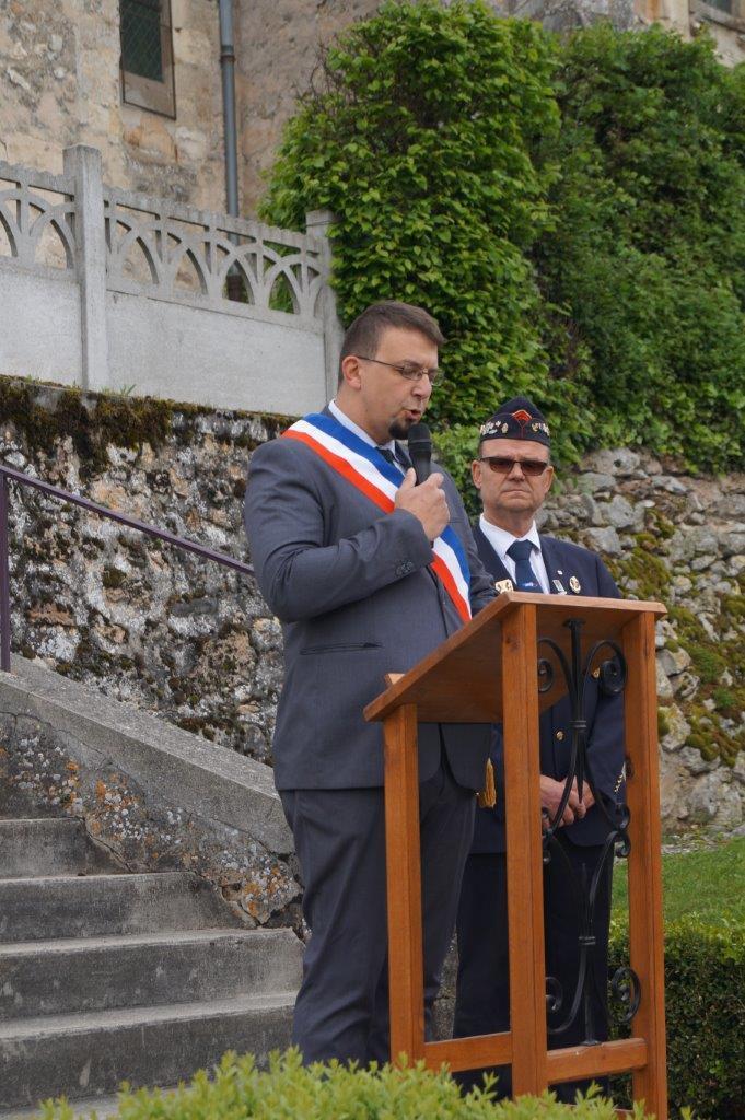 Olivier Casside, maire de Pavant, représente le canton d'Essômes-sur-Marne et l'intercommunalité de Charly-sur-Marne.