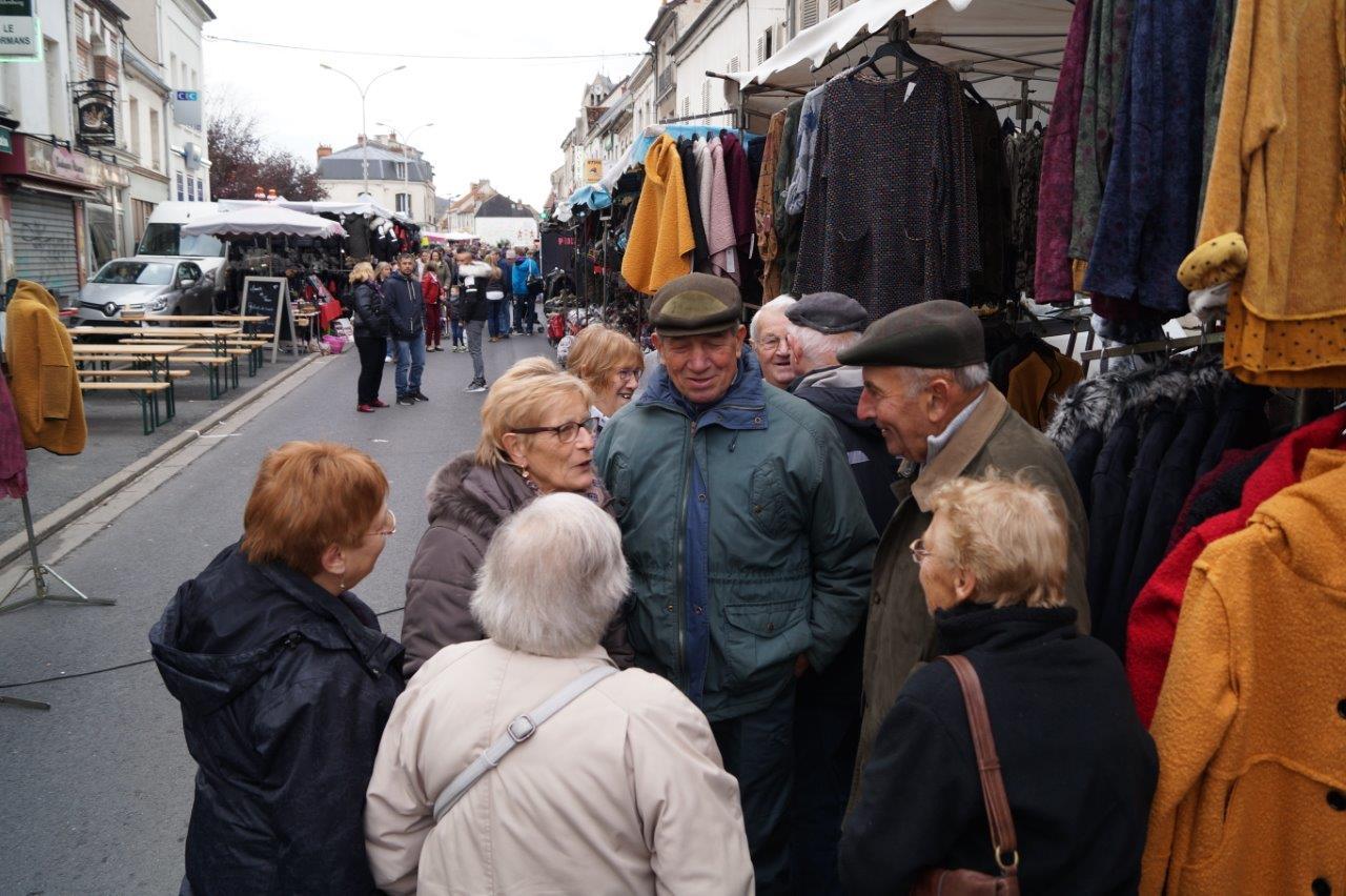 La Saint-Crépin est l'occasion de prendre des nouvelles des uns et des autres ou parfois de refaire le Monde...
