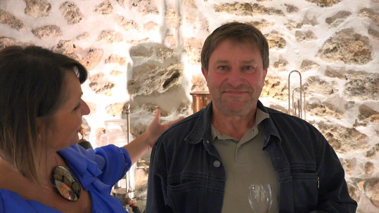 Didier Kohler, vice-président Aisne-Vallée de la Marne Ouest et Seine-et-Marne au sein du Syndicat général des vignerons de la Champagne.
