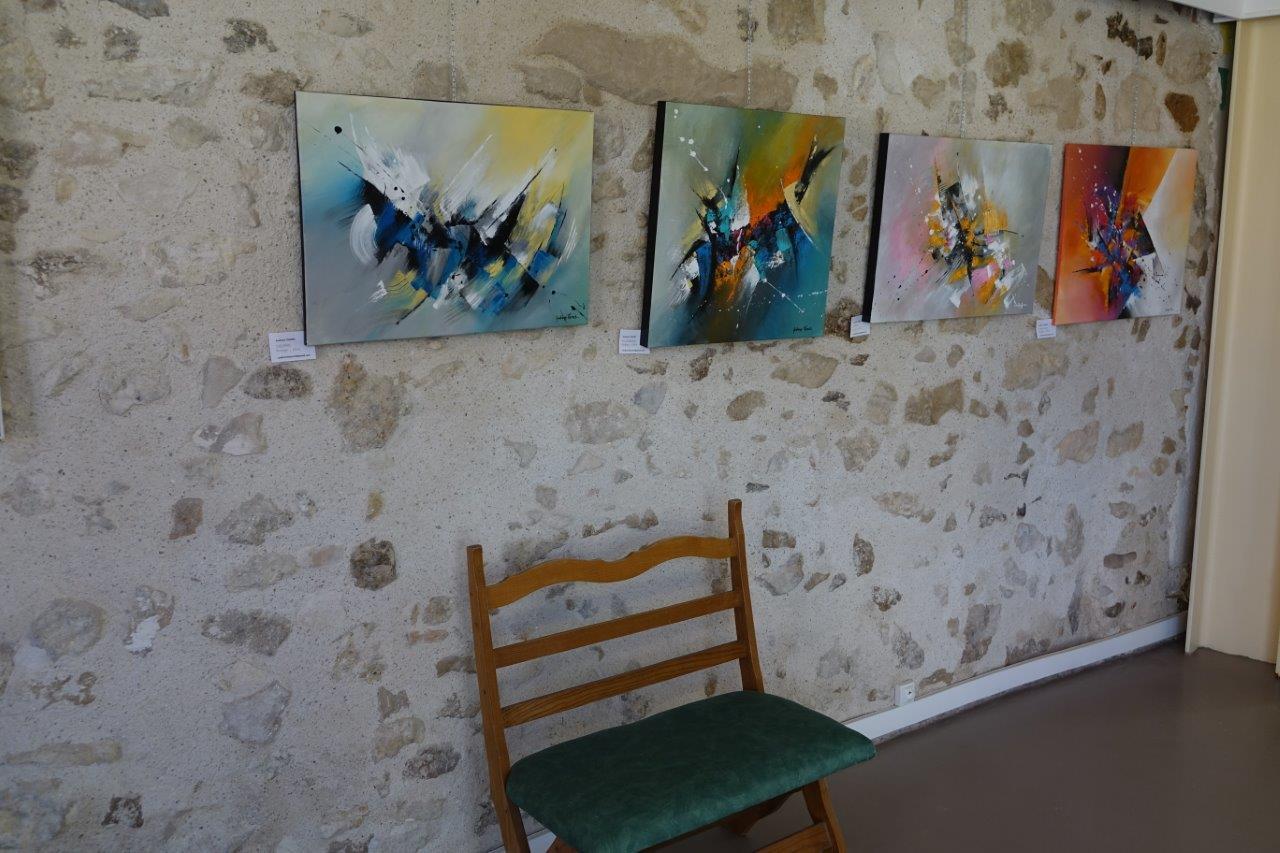 L'Artothèque-Galerie Confluent des Arts, pilotée par Valérie Najand, a proposé de nombreuses animations artistiques.