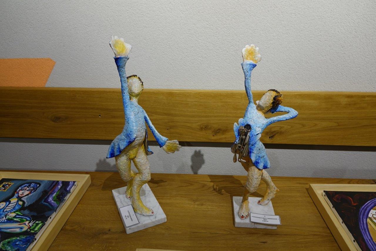 Sculptures en mouvement...