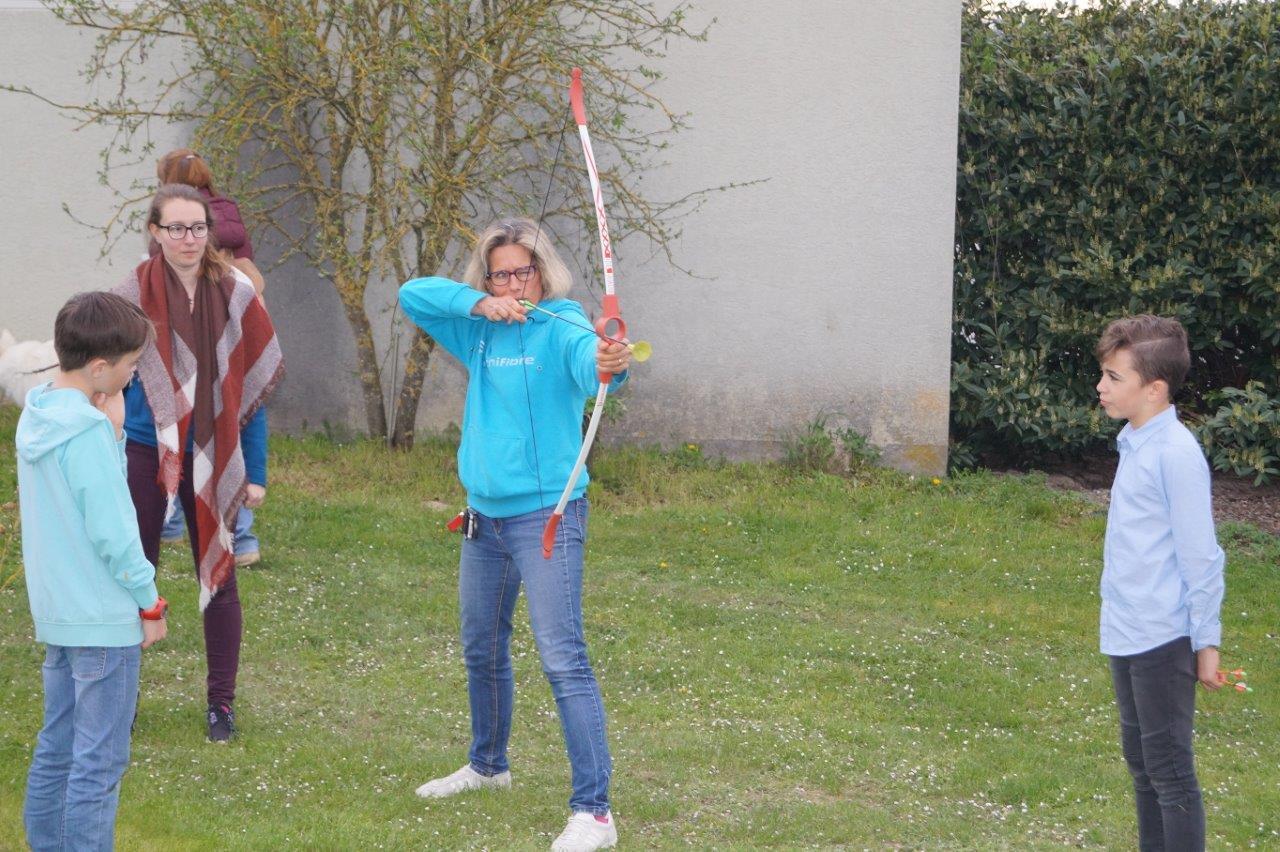 La gente féminine a plus d'une corde à son arc...