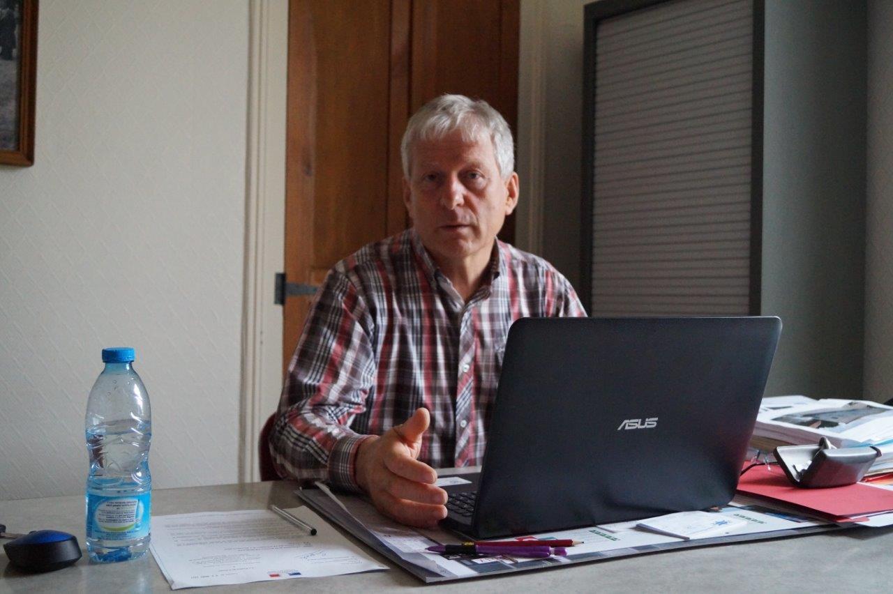 Eric Assier est maire de Condé-en-Brie depuis 2014.