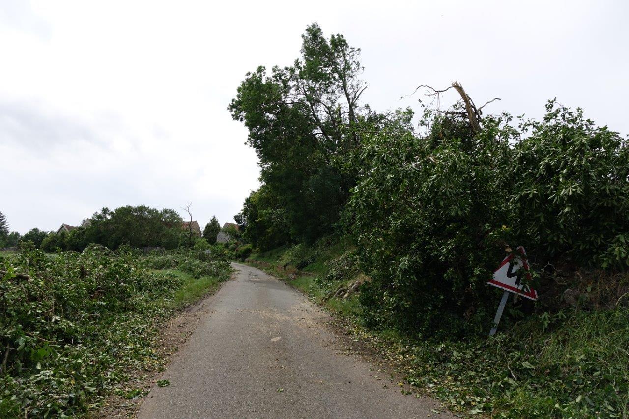 La montée vers Montigny-lès-Condé ne présageait rien de bon...
