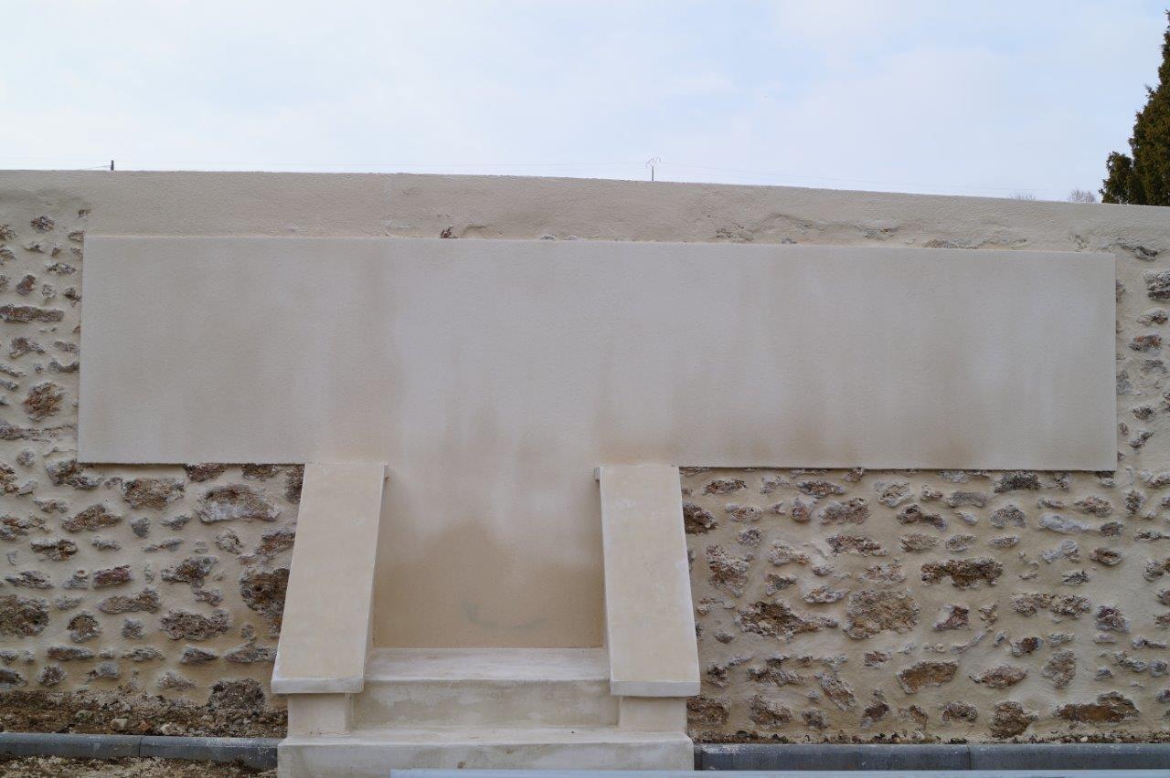 A Saint-Agnan, l'inauguration du monument aux morts devrait se dérouler en 2018.