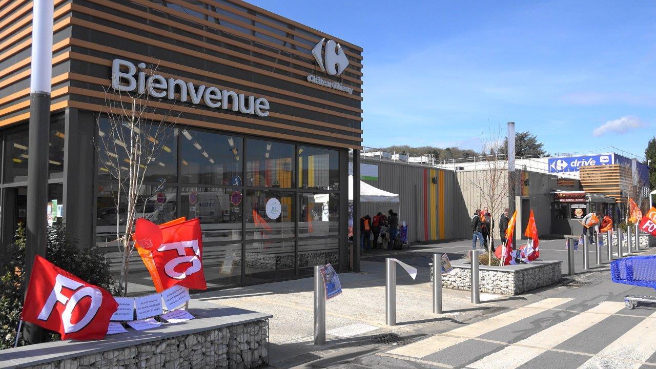 Une grève générale est déclenchée ce samedi 31 mars 2018 dans les magasins du groupe Carrefour.