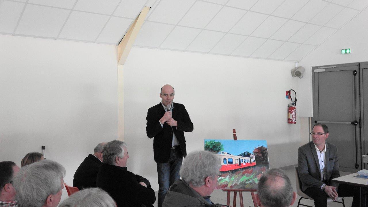 Etienne Dhuicq, maire de Montmirail, est avec Eric Assier, maire de Condé-en-Brie, un fervent défenseur de l'association TFBCO.