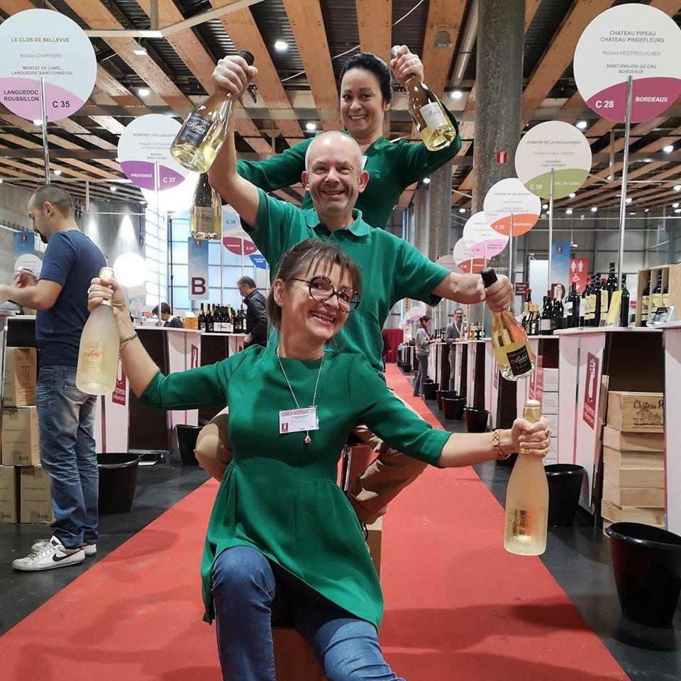 Champagne Météyer était présent au 23ème Salon des Vignerons Indépendants qui s'est déroulé du 15 au 18 novembre à Lille.