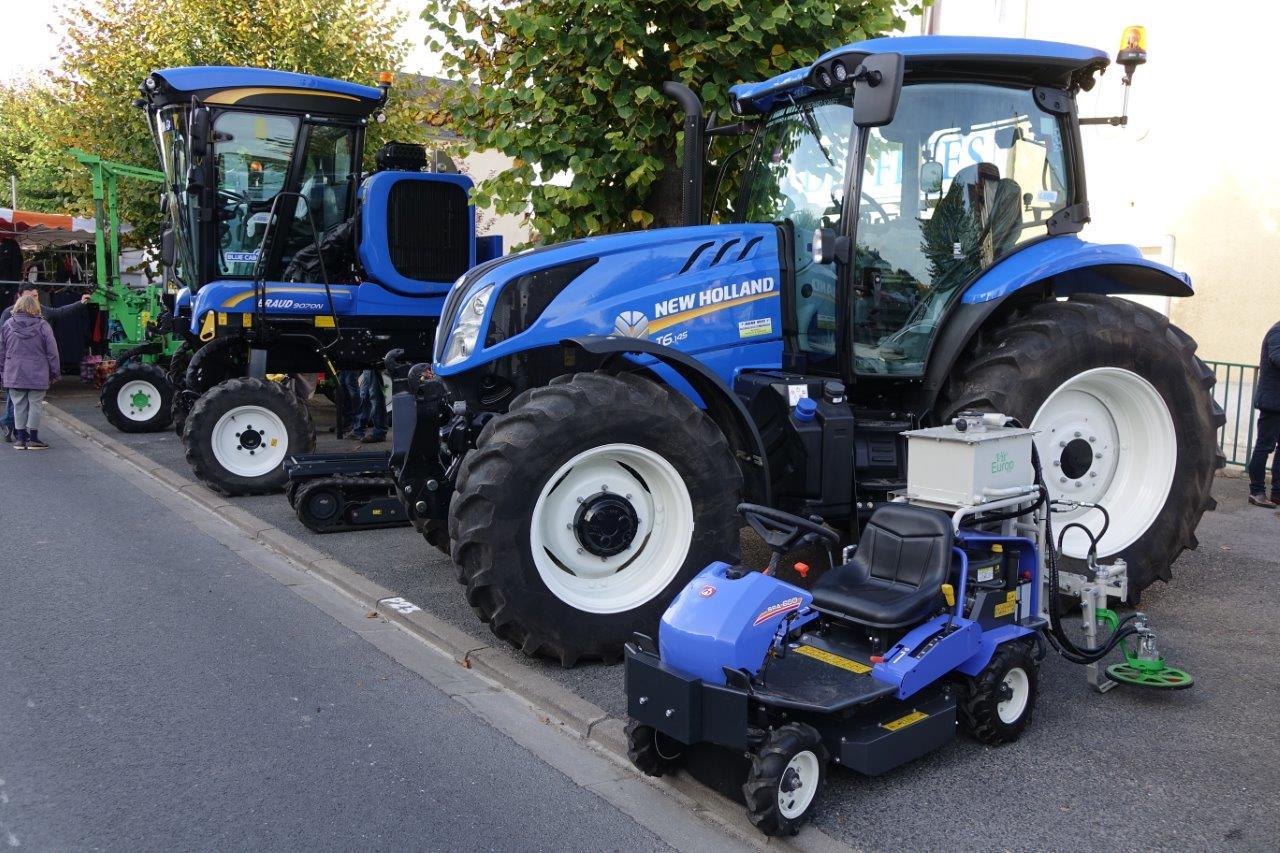 Le matériel agricole...