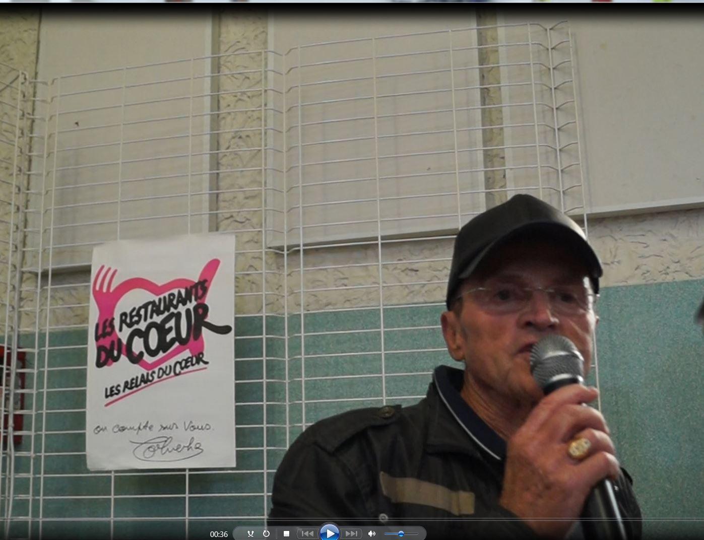Pour les Restos du Coeur, Richard Olivieri précise l'aide apportée chaque année de fin novembre à mi-mars par l'association locale.