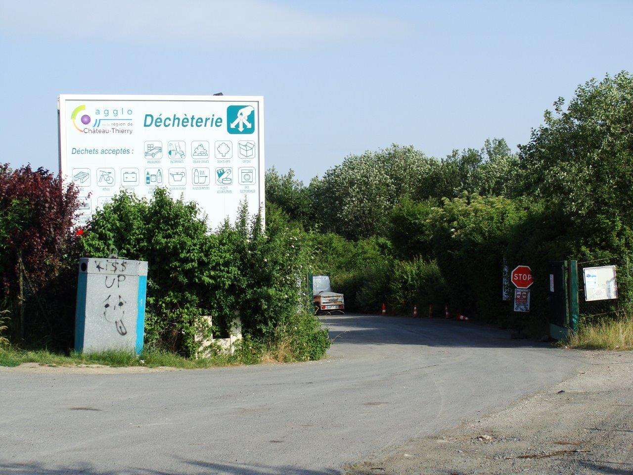 La déchèterie de Condé-en-Brie et le chemin du Bouvier font l'objet d'inciviltés.