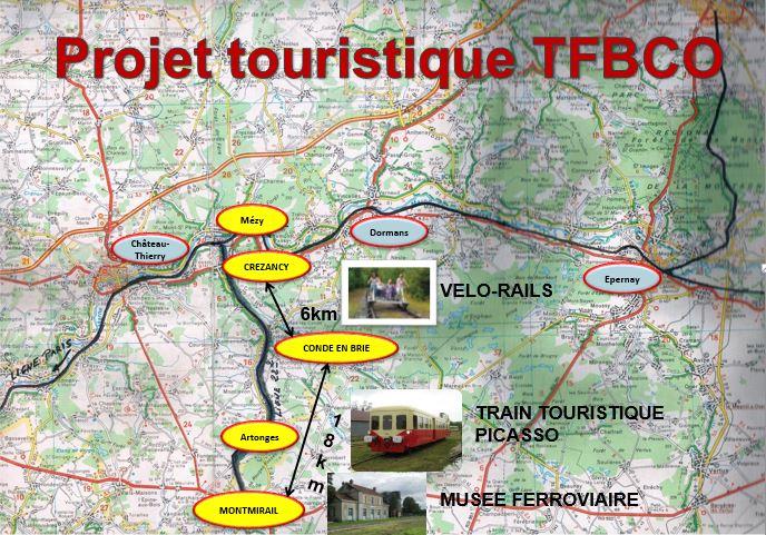 Le projet touristique de l'association TFBCO.