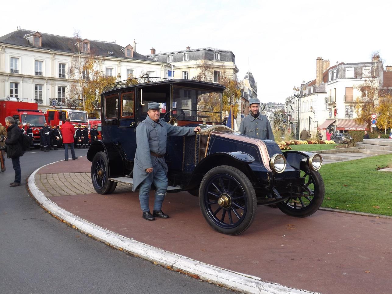 La voiture personnelle du Maréchal Joffre....