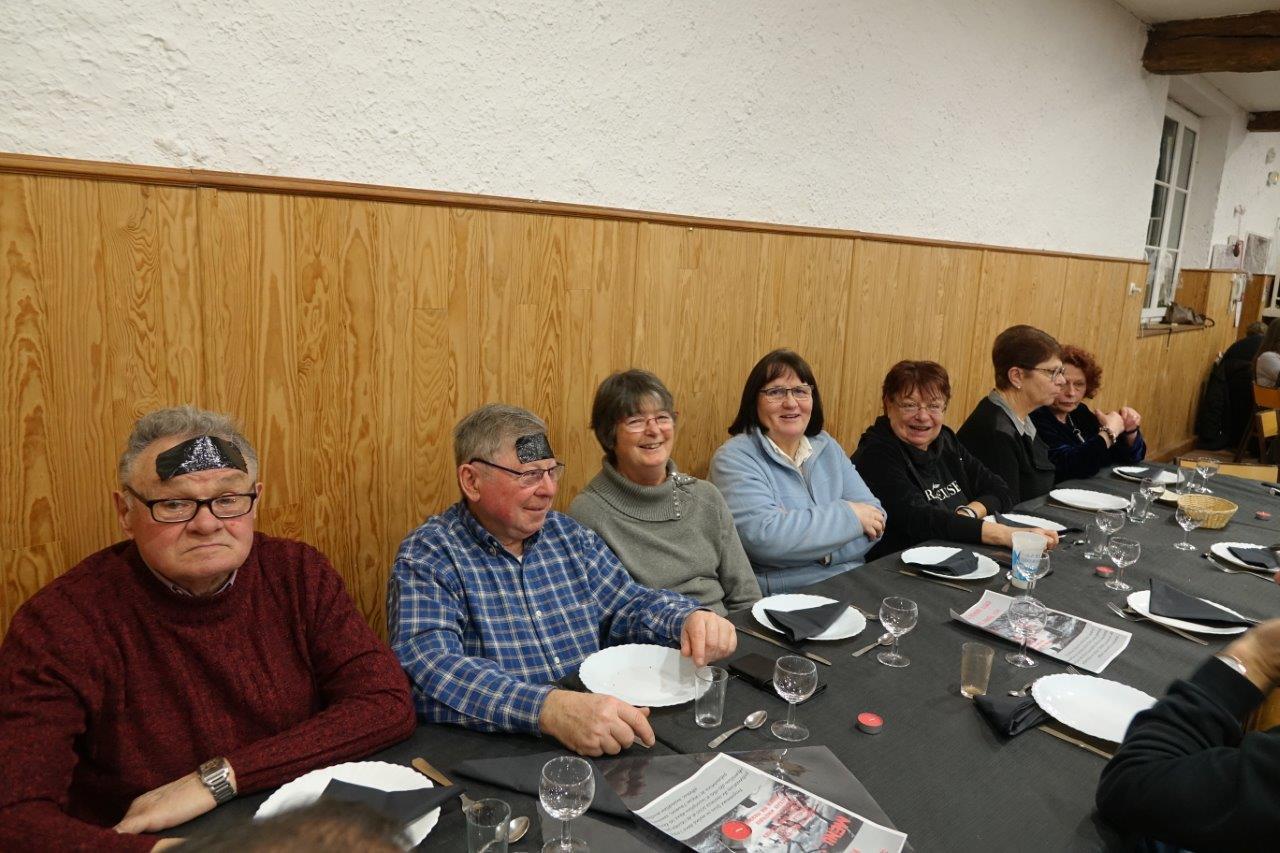 Les seniors de l'ACPV ne manquent pas ce temps fort de la vie de l'association.