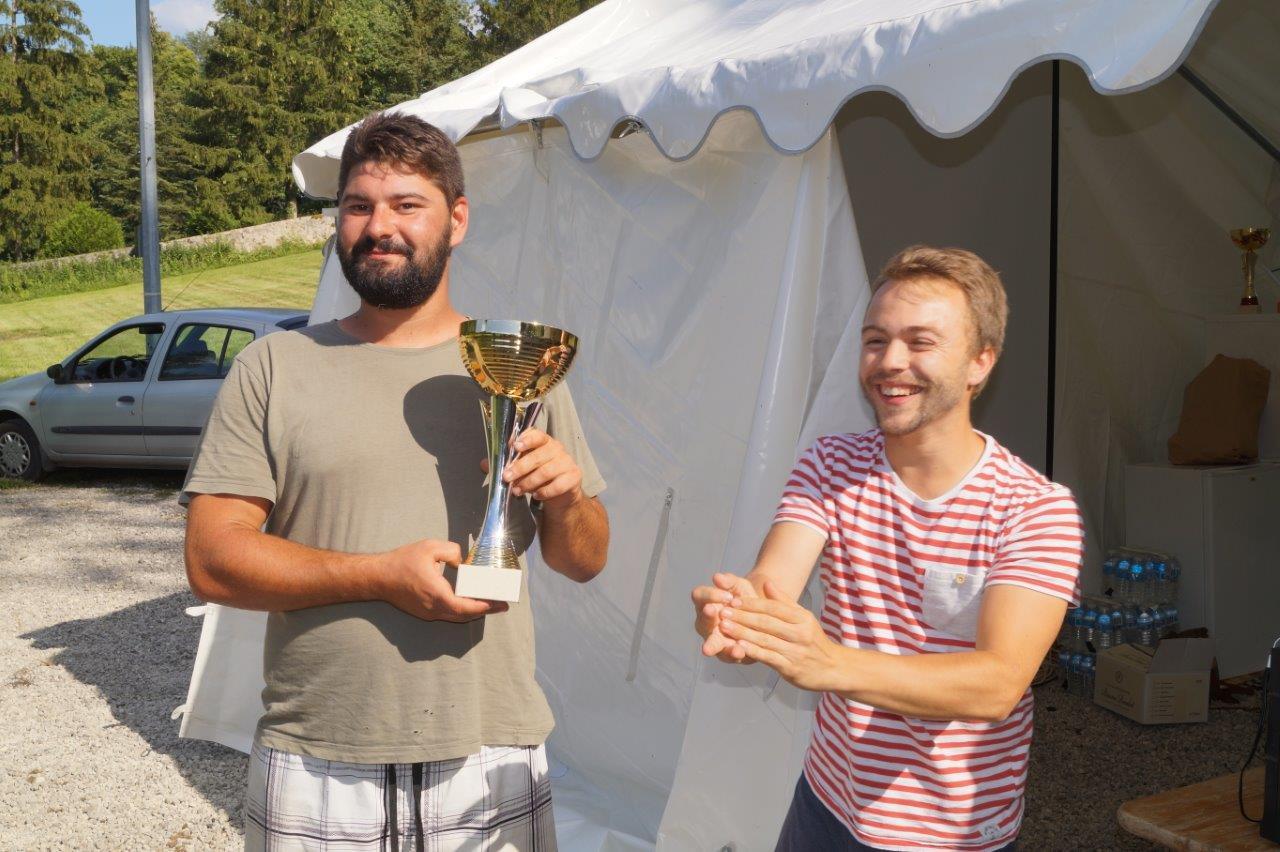 La commune nouvelle Vallées-en-Champagne était représentée par l'équipe de Baulne. Elle  termine à la troisième place.