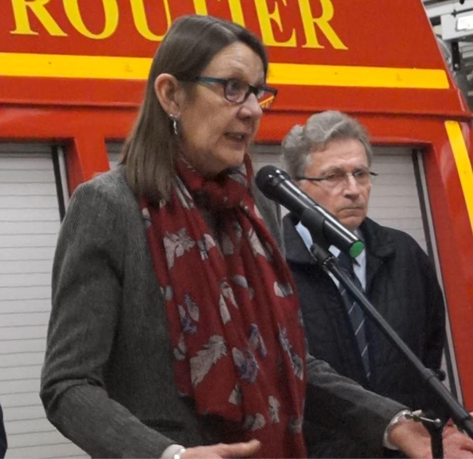 La conseillère départementale Anne Maricot a indiqué que certaines interventions des sapeurs-pompiers allaient devenir payantes.