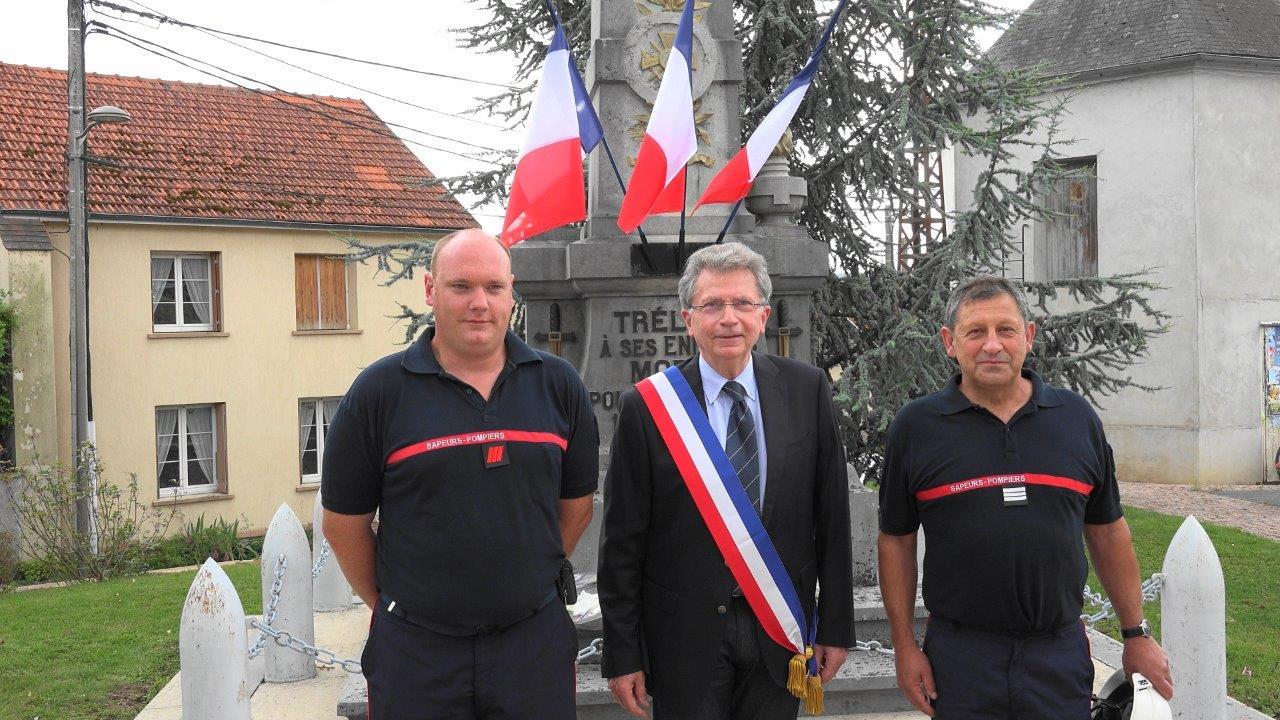 De gauche à droite : Mathias Boutville, Daniel Girardin et Vincent Couvent.
