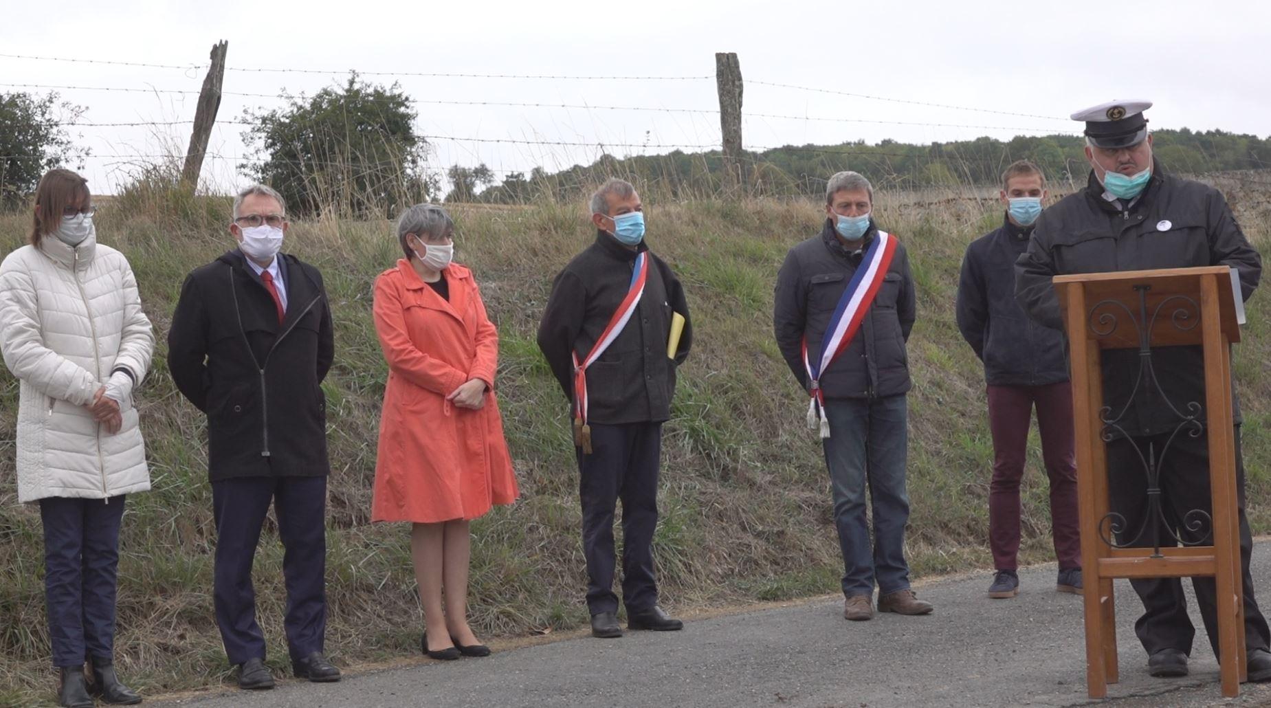 De gauche à droite : Anne Maricot, Dominique Moyse, Mireille Chevet, Bruno Lahouati, Jean-Yves Roulot, Louison Tanet et Christophe Delannoy.