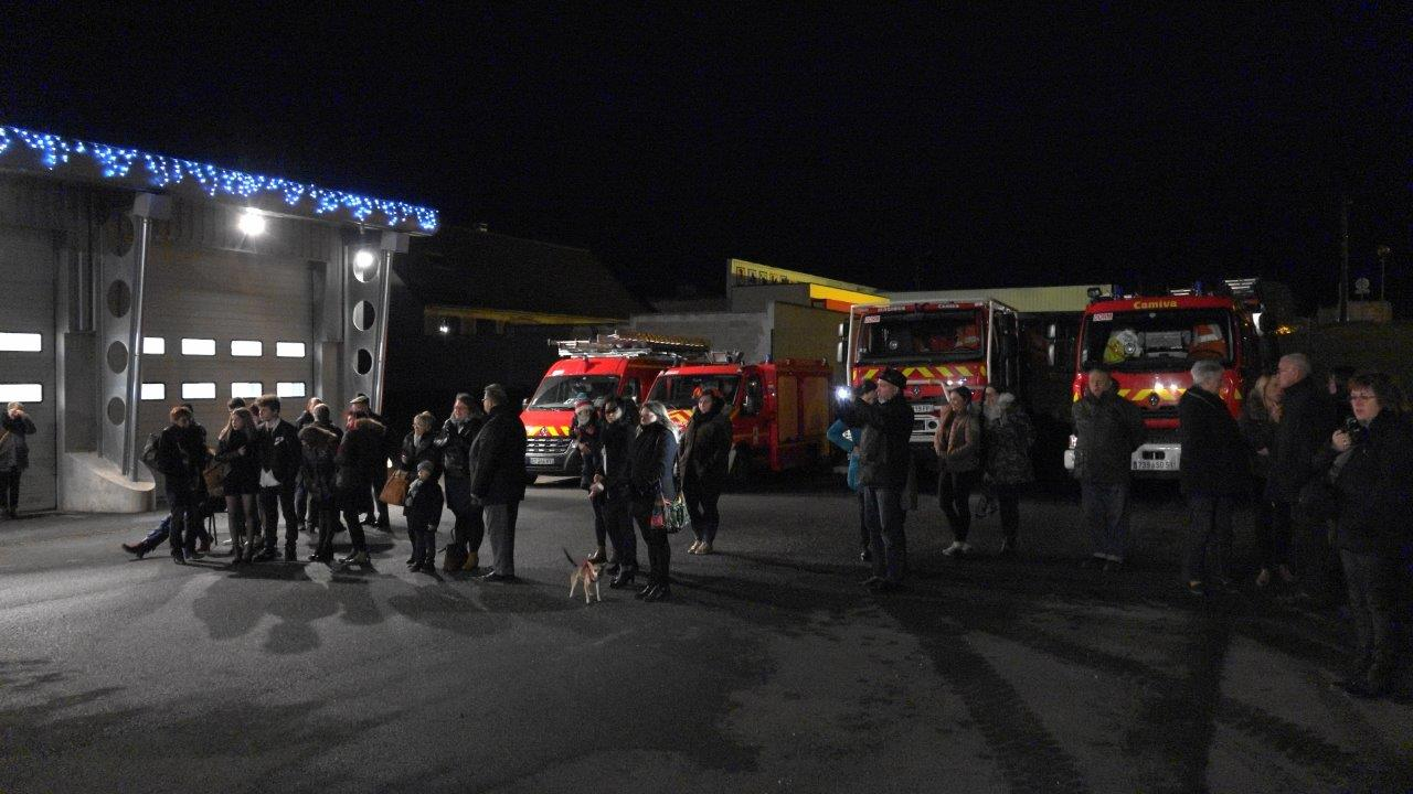 La grande famille des sapeurs-pompiers n'a pas manqué ce rendez-vous incontournable.