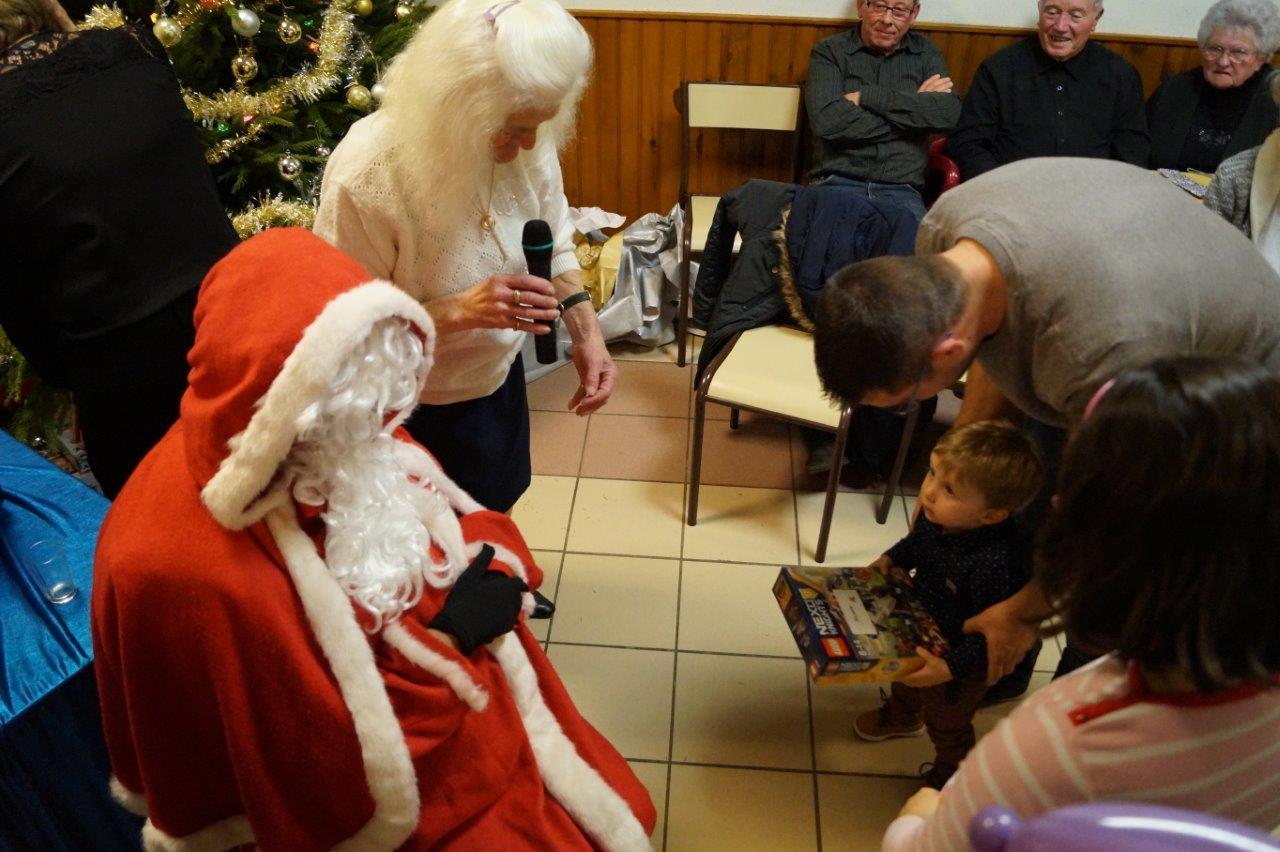 Le Père Noël s'est montré une nouvelle fois généreux.