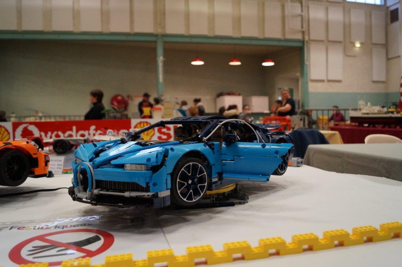 Il a fallu 3599 pièces pour assembler cette Bugatti Chiron.