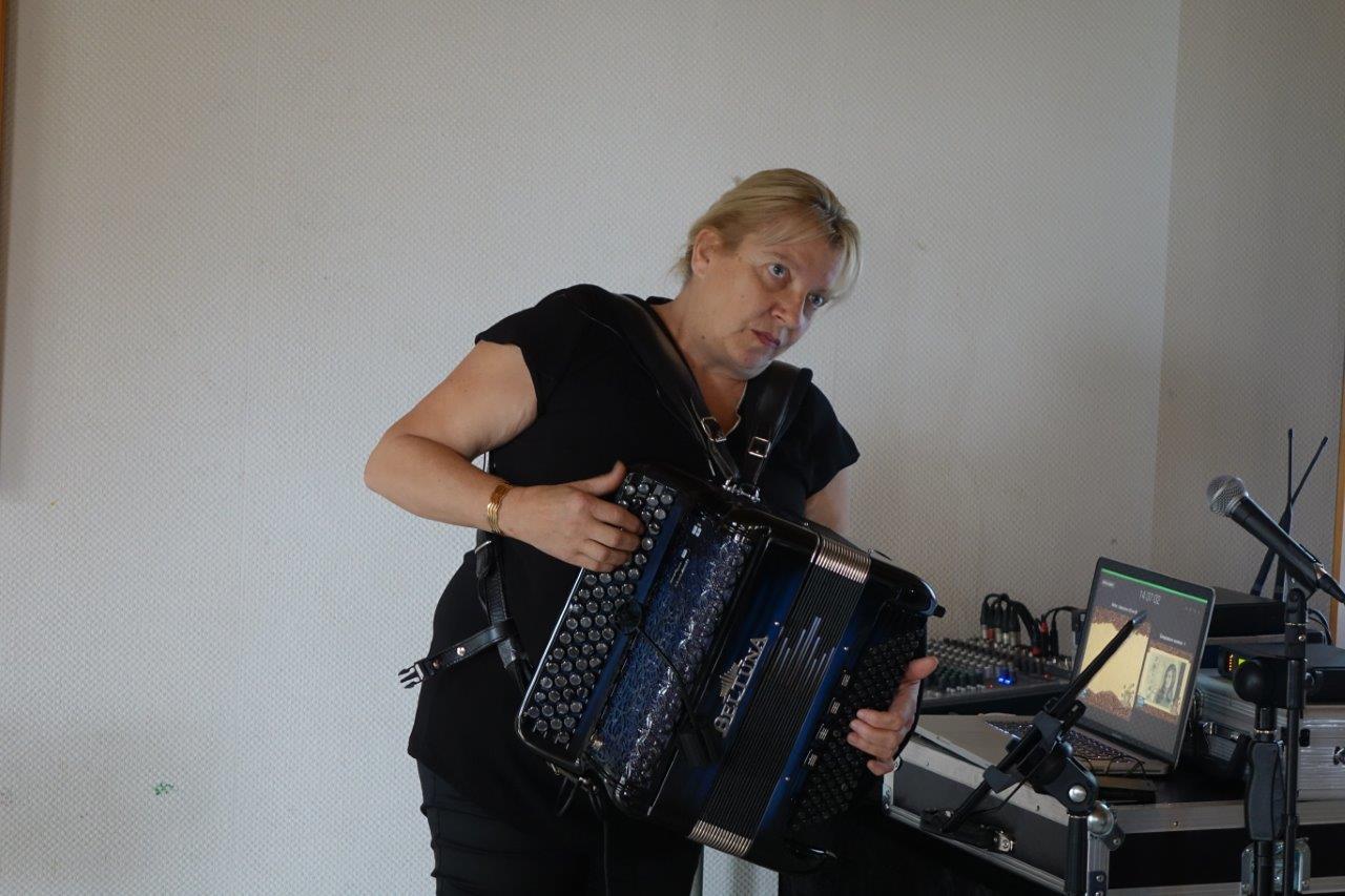 L'accordéon est le roi de l'accompagnement musical.