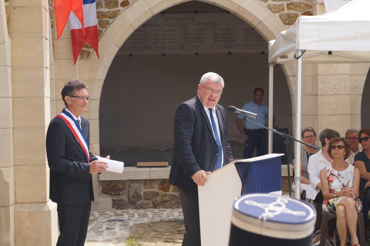 Christian Bruyen, conseiller municipal de Dormans et président du Conseil départemental de la Marne, explique les raisons de l'annulation de l'évènement du 18 juillet 2018.