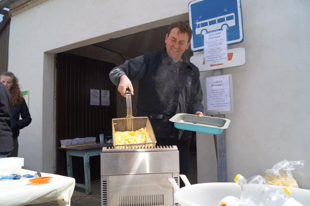 Les frites d'Olivier Picart...