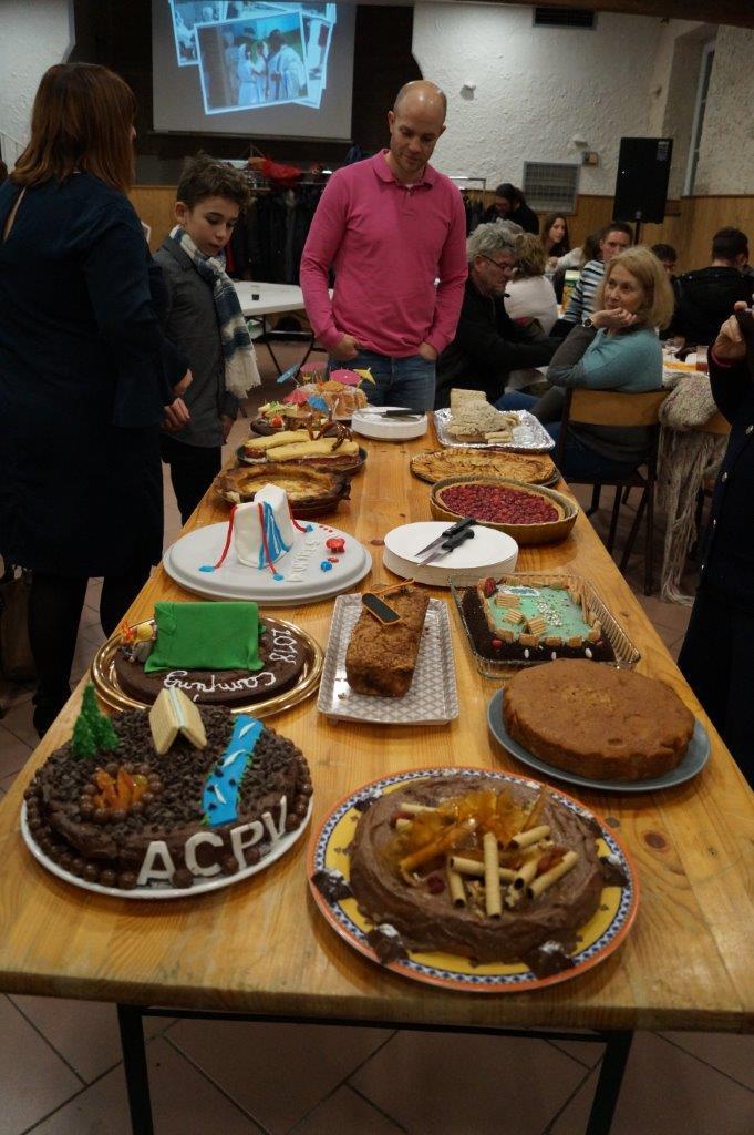 Le concours de desserts est ouvert.