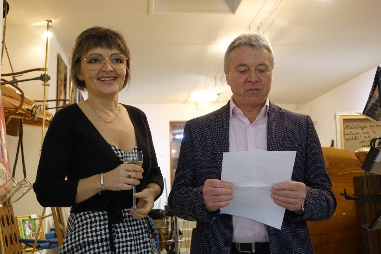 Anna Météyer et Jean-Jacques Ecorce présentent la première exposition de l'année 2019.