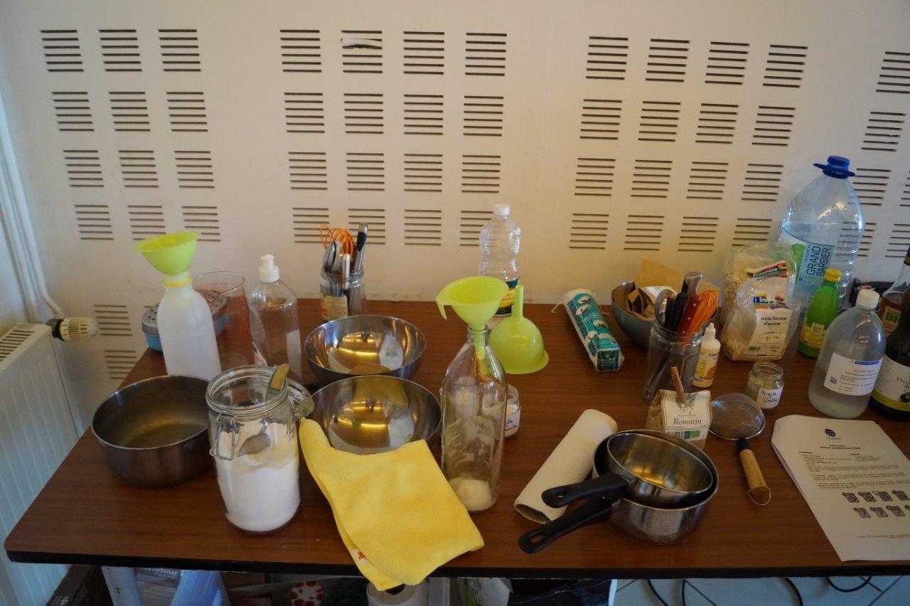 Recettes écologiques : ingrédients et matériel sont là. Y a plus qu'à !