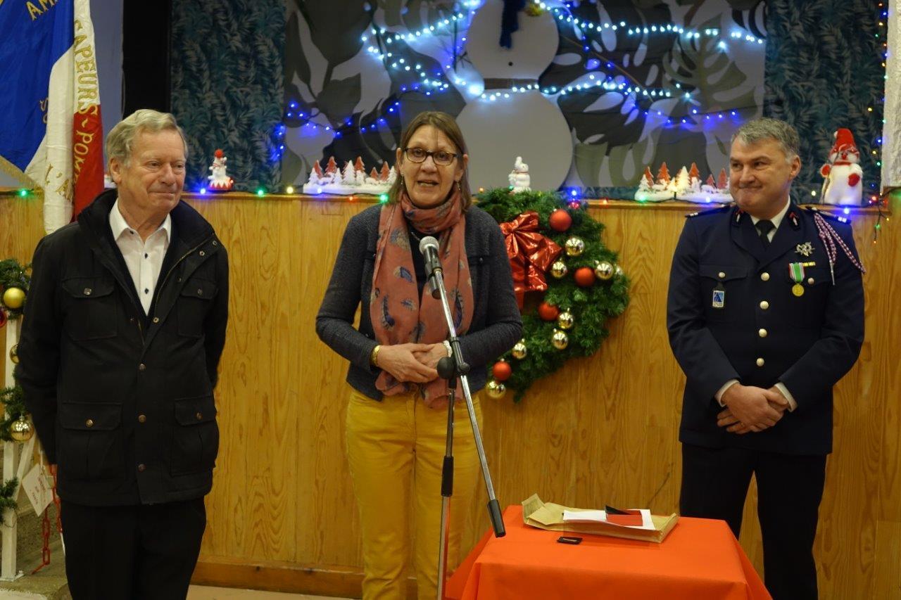 De gauche à droite : Jean-Marie Houdant, Anne Maricot et Pascal Le Cornec.