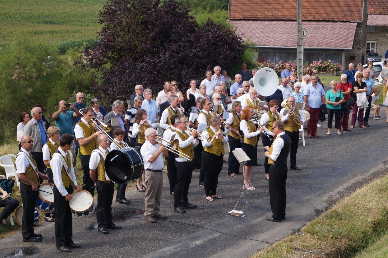 La Musique de Dormans a assuré la partie musicale de la cérémonie.
