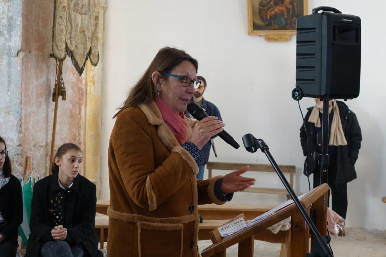 Les interventions d'Anne Maricot, conseillère départementale du canton d'Essômes-sur-Marne...