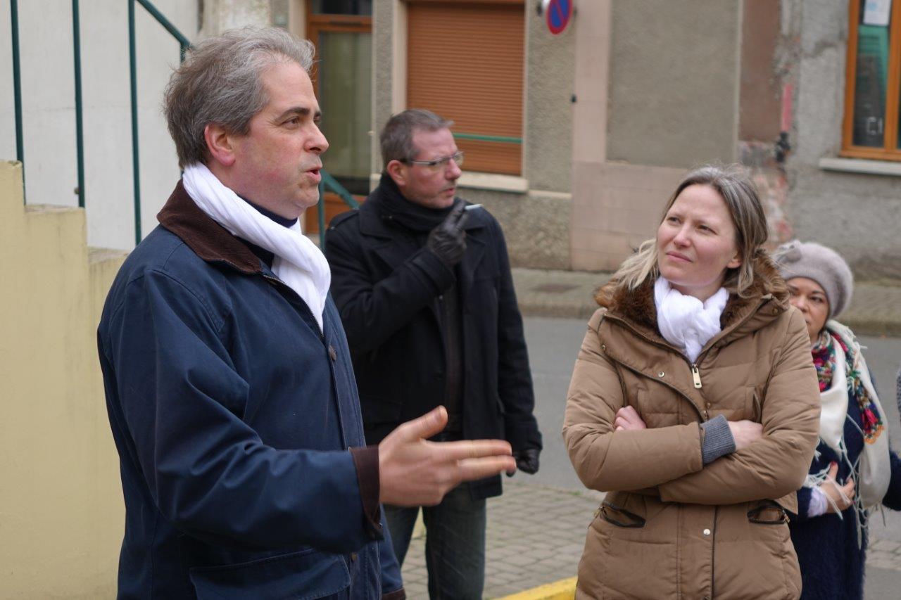 """Le lancement de la liste """" Ensemble, Condéennes et Condéens """" a été marqué par la couleur blanche."""