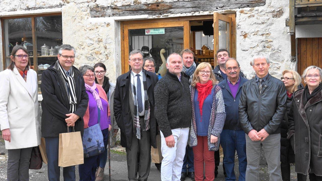 La délégation aux Canardises des 3 Vallées.