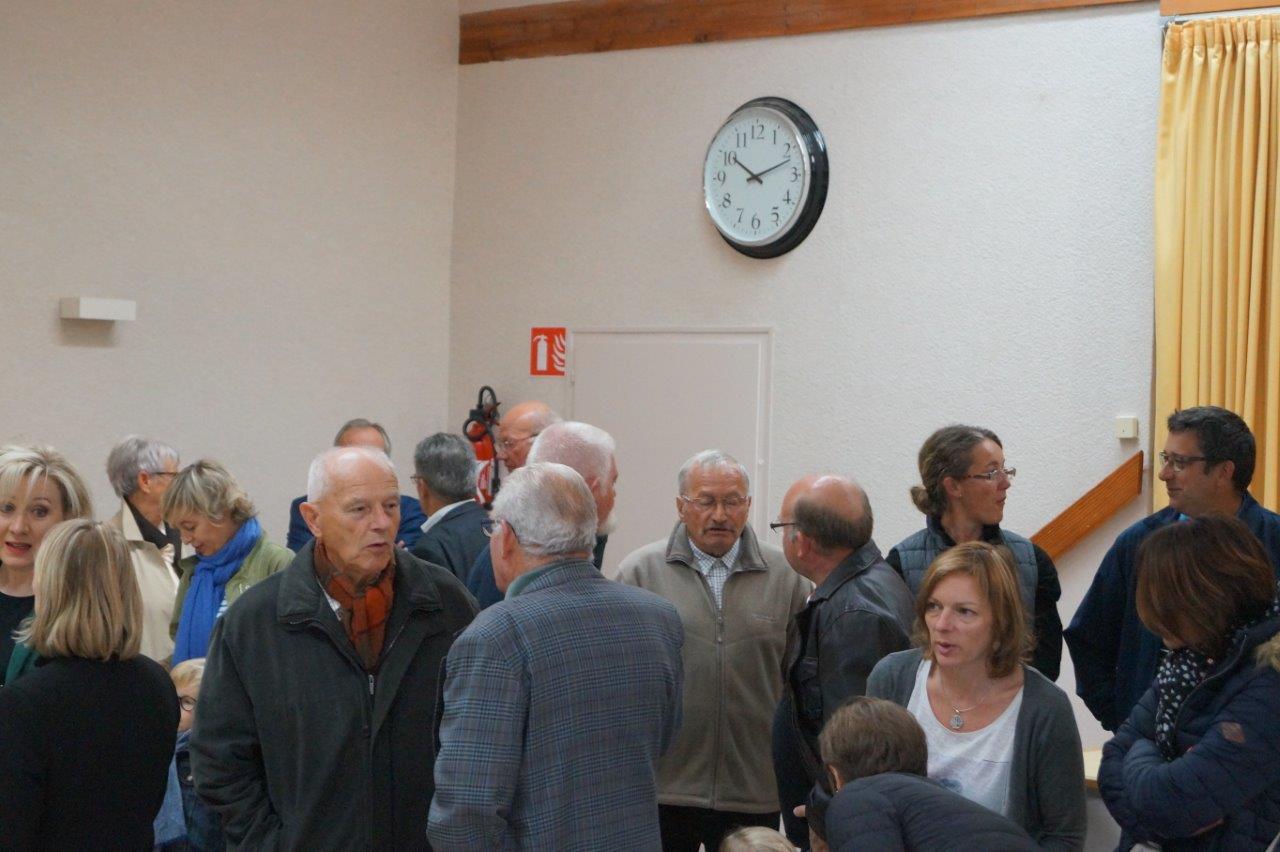Près de 80 personnes ont répondu à l'invitation de la maire breuilloise....