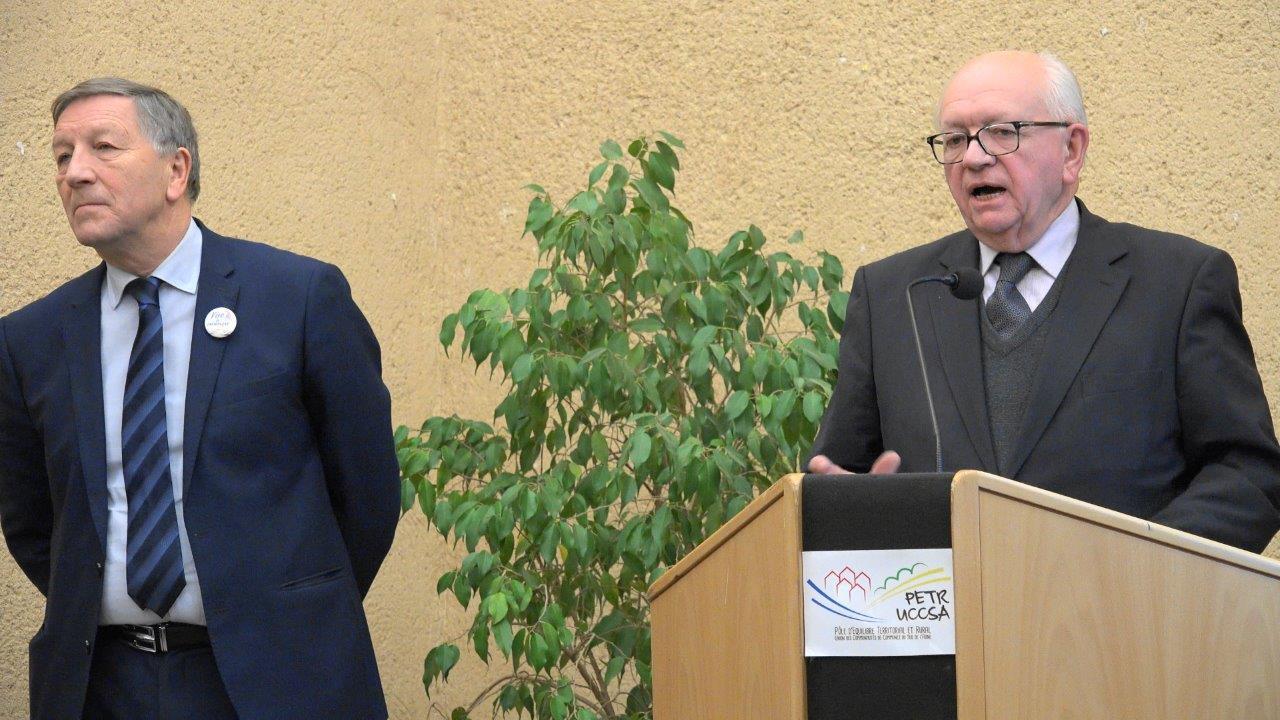 Michel Baroux, président du Codev.