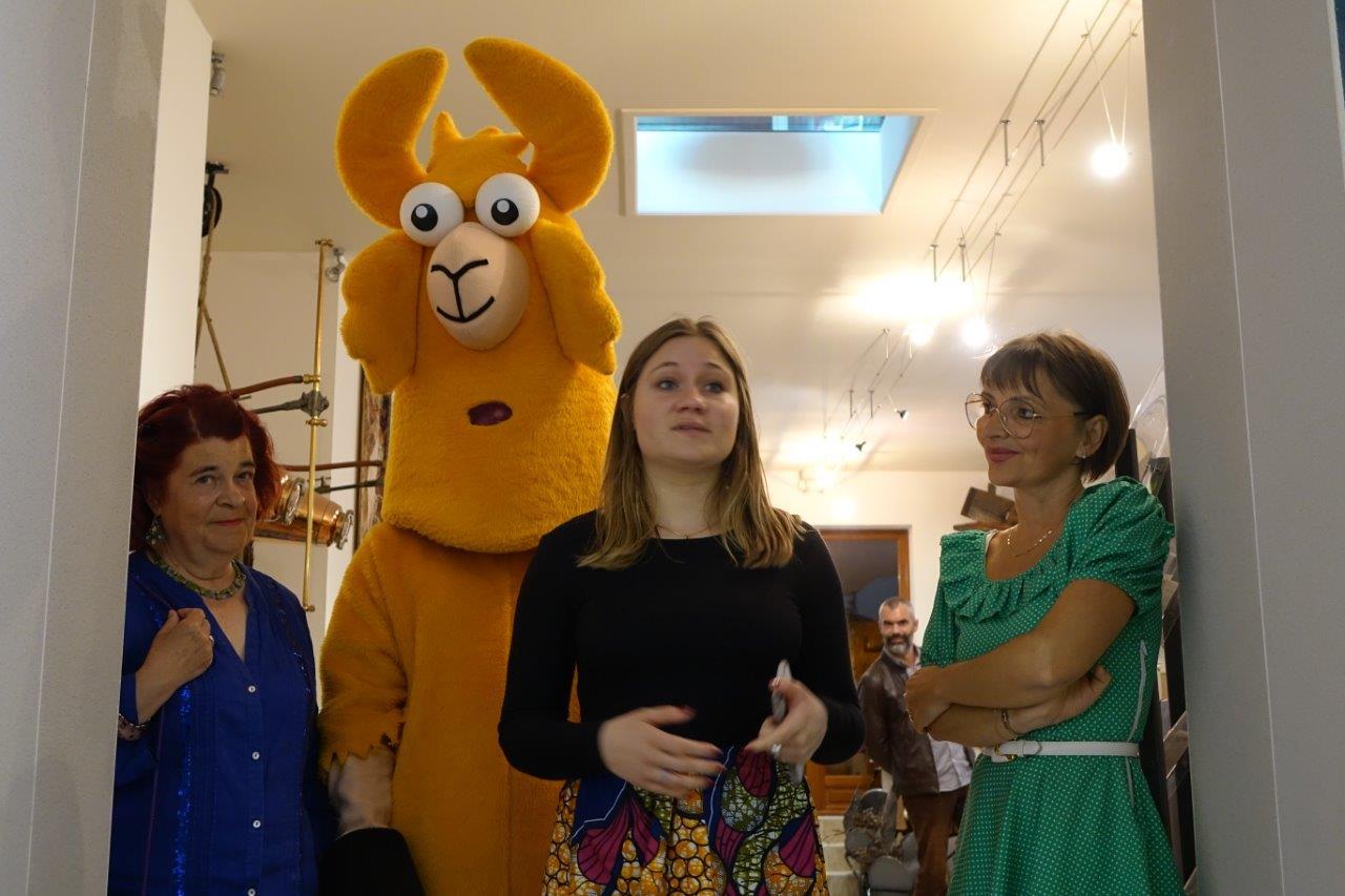 Au centre : Alexia Charbonnier est cofondatrice, avec Arnaud Rachez, d'Actizzy.