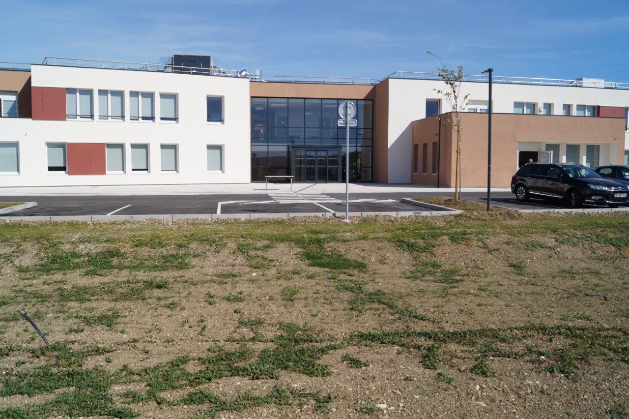 L'EHPAD de Dormans est une réalisation de la Société BEC Construction Champagne.