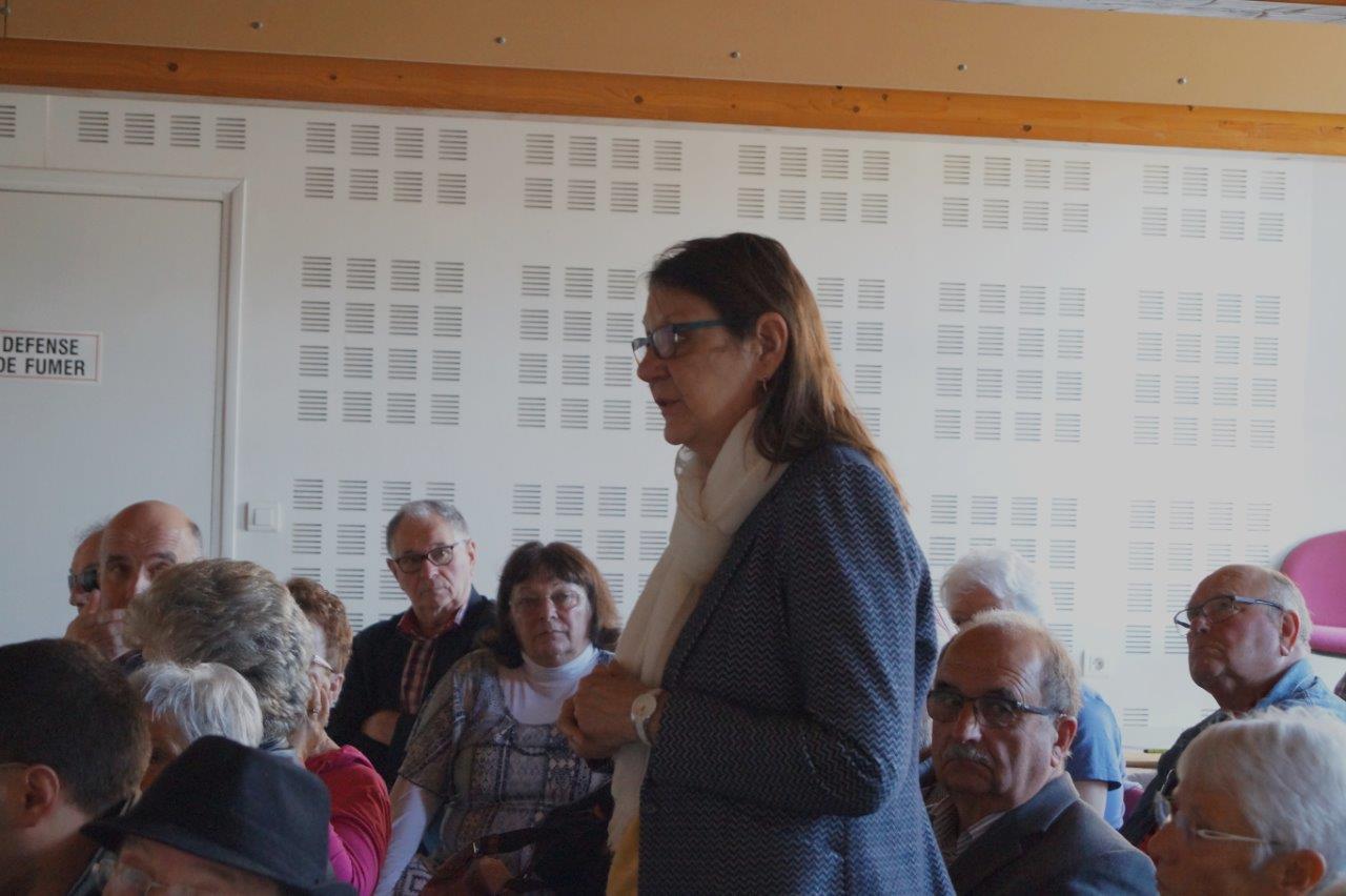 Anne Maricot dénonce la position de la SNCF sur la partie de la ligne 22², Artonges/Mézy-Moulins.