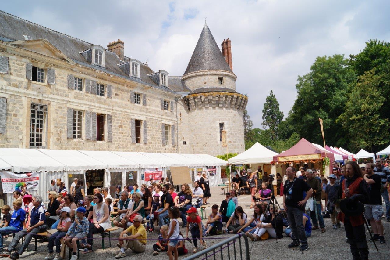 Le festival Le Dormantastique se déroule, depuis sa création, dans le parc du château de Dormans.