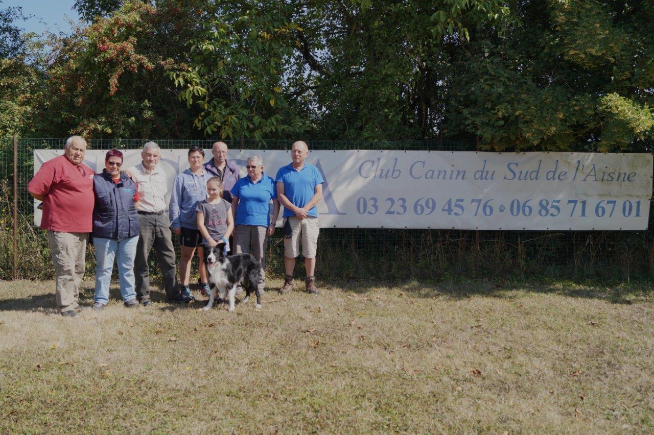Le Club Canin du Sud de l'Aisne soutient Clémentine et H'Zeus ainsi que...