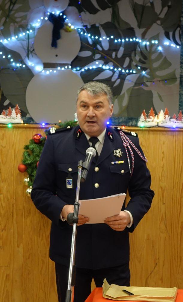 Le lieutenant Pascal Le Cornec est le chef du centre de première intervention de Saint-Eugène...
