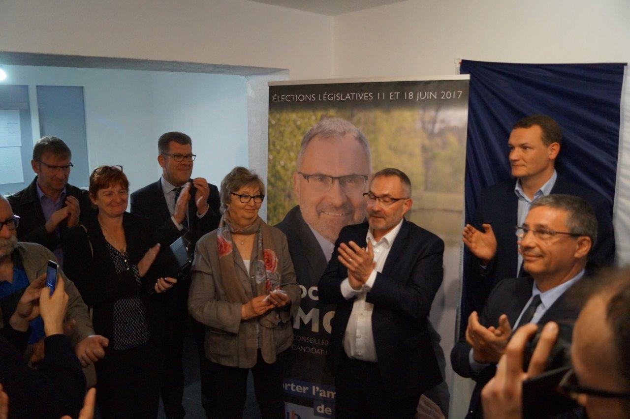 """Porter l'ambition de notre territoire"" : un slogan de campagne très applaudi..."