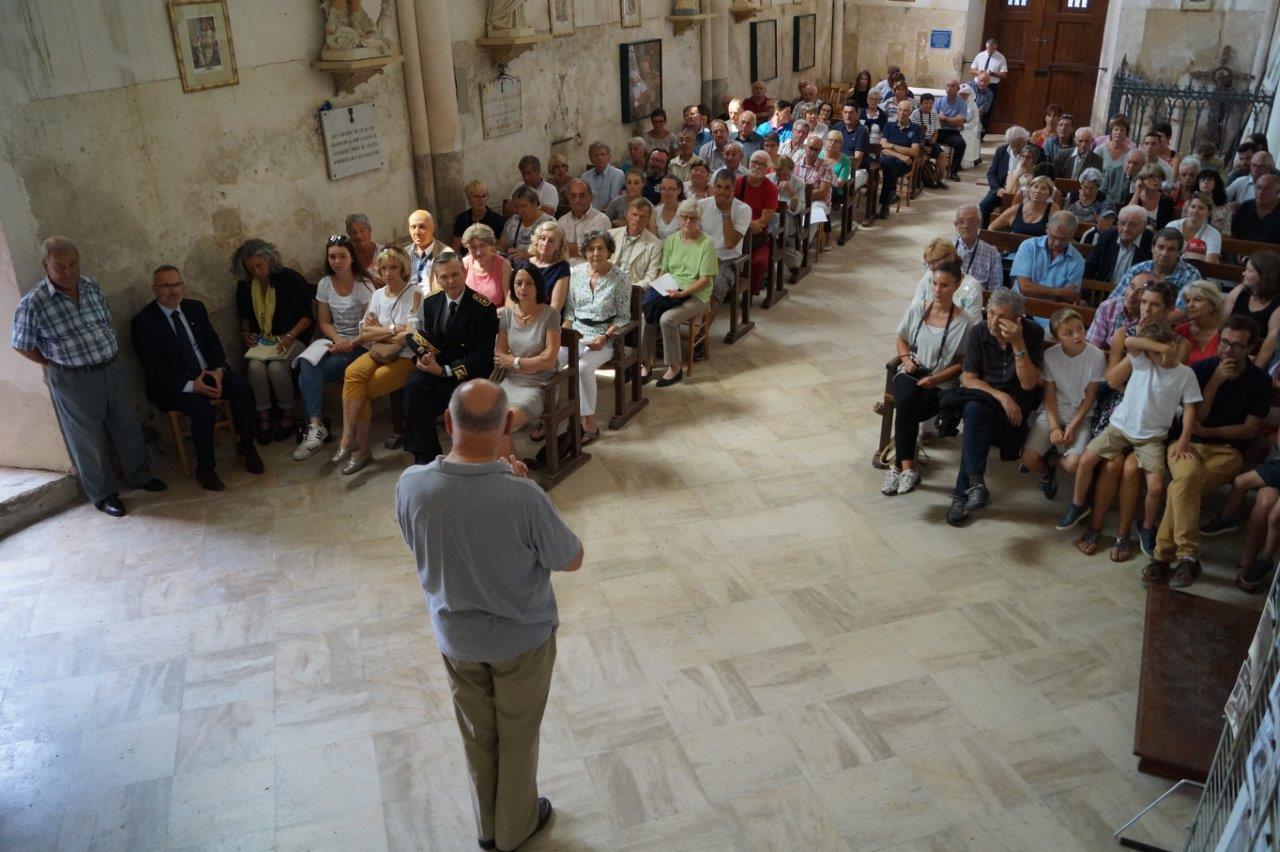 L'église de La Chapelle-Monthodon est comble pour la prestation de la chorale valcampanienne d'un jour.
