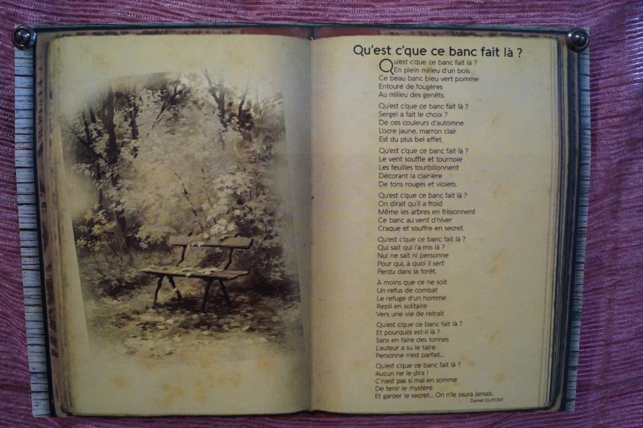 Daniel Dupont (texte).