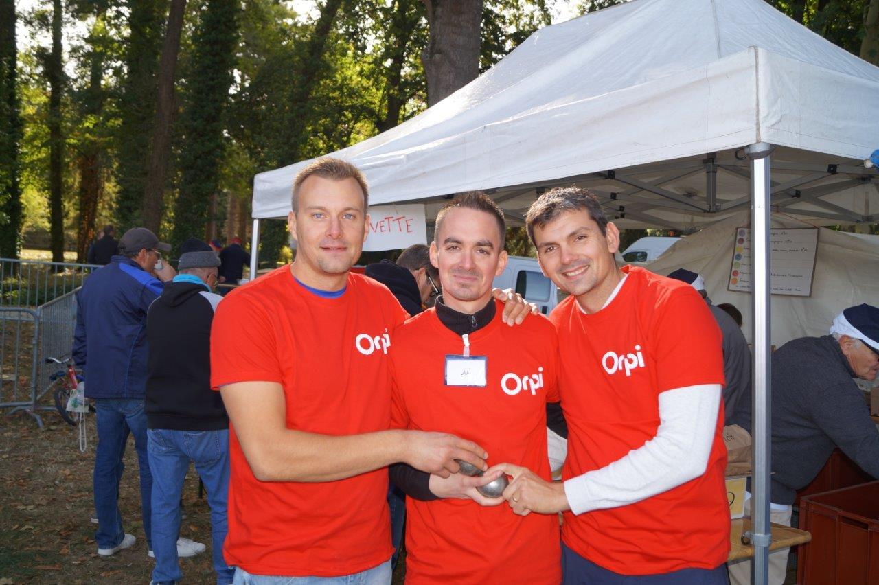 Trois collaborateurs de l'agence ORPI de Dormans figurent parmi les 108 participants.